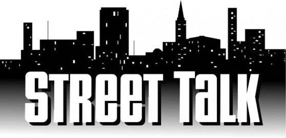 Street Talk Band Logo - Black on White